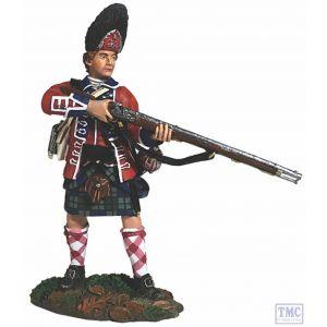 B16057 W.Britain 42nd RHR Grenadier Standing Alert 1760-63 Clash of Empires