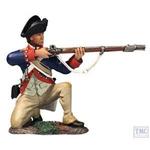 B16061 W.Britain Continental Line Kneeling Firing 1777-87 Clash of Empires
