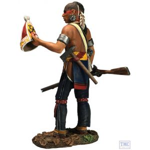 B16062 W.Britain Native Warrior with Souvenir Grenadier Cap Clash of Empires