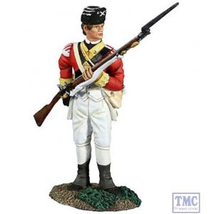 B18040 W.Britain British 10th Foot Light Infantry Reaching for Cartridge 1 American War of Independence Collection