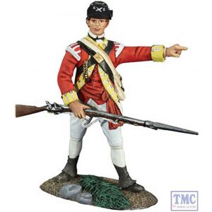 B18042 W.Britain British 10th Foot Light Infantry NCO 1 American War of Independence Collection