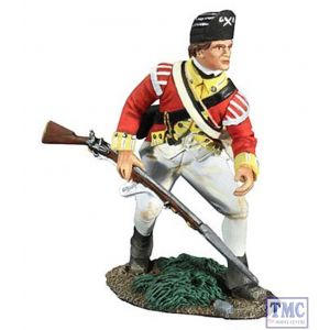 B18048 W.Britain British 10th Light Infantry Advancing 1 American War of Independence Collection