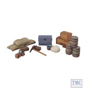 B20016 W.Britain Zulu War British Military Accessory Set 1 11 Piece Set Zulu War Collection Matte