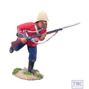 B20044 W.Britain British 24th Foot Charging 1 Zulu War Collection Matte