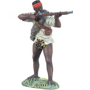 B20133 W.Britain Natal Native Contingent with Rifle Zulu War Collection Matte