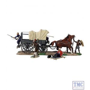 B20150 W.Britain Overrun 9 Piece Set Ltd. Ed. 500 Zulu War Collection Matte