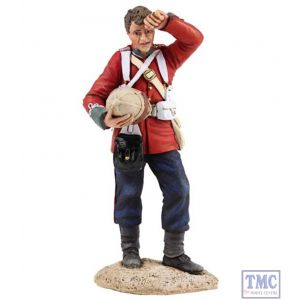 B20166 W.Britain British 24th Foot Standing Wiping Brow Zulu War Collection Matte