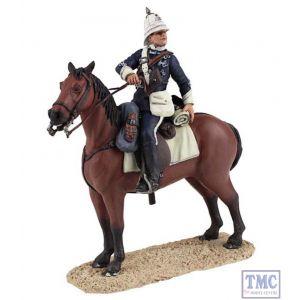 B20170 W.Britain Natal Carbineer Officer Mounted Zulu War Collection Matte