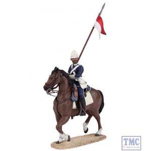 B20171 W.Britain British 17th Lancer Mounted 1 Zulu War Collection Matte