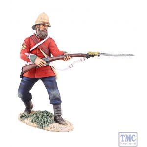 B20174 W.Britain British 24th Foot Sgt. Bourne 2 Parrying with Bayonet Zulu War Collection Matte