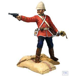 "B20190 W.Britain ""Getting A Little Close!"" 24th Foot Officer LE 450 Sets Zulu - Matte"