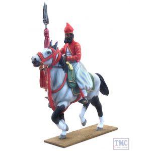 B22003 W.Britain A Jaipur Horseman 2 Piece Set Delhi Durbar Collection