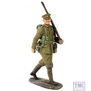 B23066 W.Britain 1914 British Infantry Marching with Full Kit 1 World War I Collection