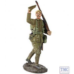 B23067 W.Britain 1914 British Infantry Marching Waving Cap World War I Collection
