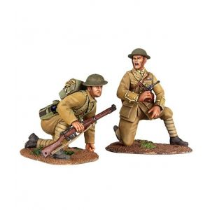 B23073 W.Britain Move Up 2 Piece Set World War I Collection