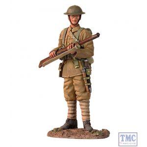 B23074 W.Britain 1916-17 British Infantry Standing On Watch World War I Collection