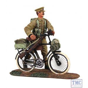 B23084 W.Britain 1914 British Infantry Pushing Bicycle 2 Piece Set World War I Collection