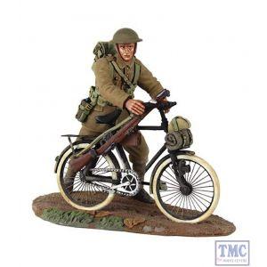 B23085 W.Britain 1916-17 British Infantry Pushing Bicycle 1 2 Piece Set World War I Collection