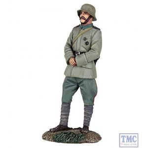 B23087 W.Britain 1916-18 German Infantry Officer Standing with Hands Clasped World War I Collection