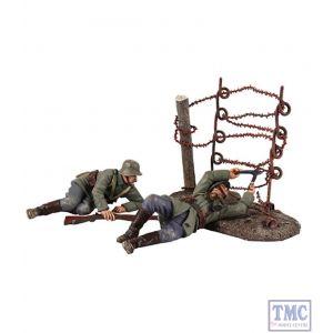 B23100 W.Britain Going Through the Wire 3 Piece Ltd. Ed. 500 World War I Collection