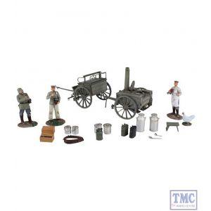 B23101 W.Britain German 1908 Hf11 Field Kitchen Set 20 Piece Ltd. Ed. 400 World War I Collection