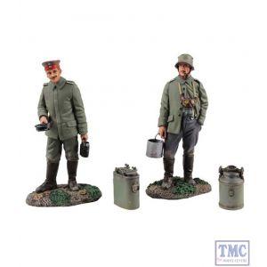 B23102 W.Britain What's On the Menu Tonight? 4 Piece Ltd. Ed. 400 World War I Collection