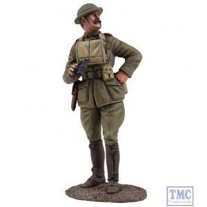 B23105 W.Britain U.S. Officer with Binoculars 1917-18 World War I Collection