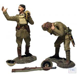 "B23116 W.Britain ""Gas Lads! Gas!"" 1917-18 5 Pce Set World War I"