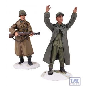 B25034 W.Britain Keep Your Hands Up Kid 2 Piece Set World War II Collection