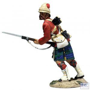 B27075 W.Britain 42nd Highlander Bayonet Levelled War Along the Nile