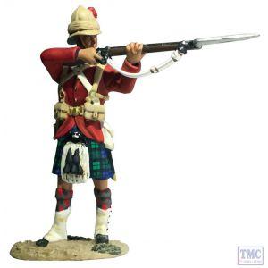 B27076 W.Britain 42nd Highlander Standing Firing War Along the Nile