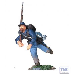 B31049 W.Britain Union Infantry Charging 3 American Civil War Collection