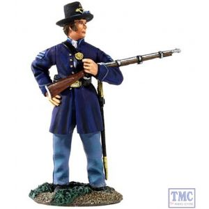 B31133 W.Britain Union Infantry Iron Brigade NCO Cradling a Musket American Civil War Collection