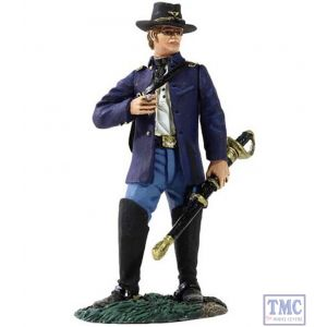 B31146 W.Britain Federal Captain of Infantry Wearing Sack Coat with Cigar American Civil War Collection