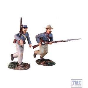 B31149 W.Britain At the Double Quick 2 Piece Set American Civil War Collection