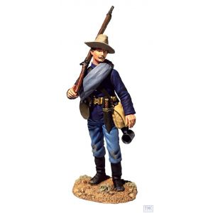 B32001 W.Britain U.S. Infantry on Campaign 1880's No.1 Dirty Shirt Blue