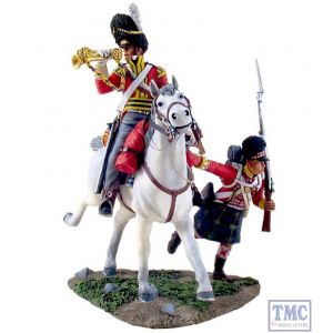 B36061 W.Britain Forward Gordons Bugler and Gordon Highlander Ltd. Ed. 600 Napoleonic Collection
