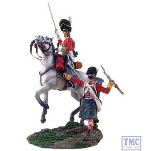 B36064 W.Britain Forward Gordons 3 Scots Grey Trooper Ltd. Ed. 600 Napoleonic Collection