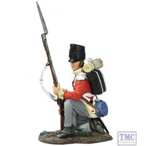 B36108 W.Britain British 44th Regiment of Foot Kneeling At Ready 1 Napoleonic Collection