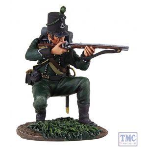 B36129 W.Britain British 95th Rifles Kneeling Firing 2 Napoleonic Collection