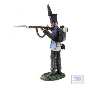 B36153 W.Britain Brunswick Leib Battalion Standing Firing _2 Napoleonic