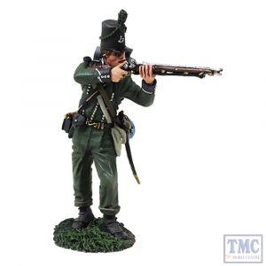 B36155 W.Britain British 95th Rifles Standing Firing _3 Napoleonic