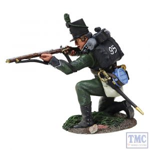 B36156 W.Britain British 95th Rifles Kneeling Firing _3 Napoleonic