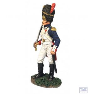 B36160 W.Britain French Old Guard Company Officer Napoleonic