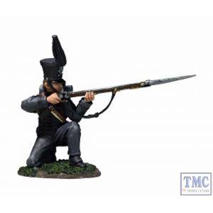 B36165 W.Britain Brunswick Leib Battalion Kneeling Firing No. 2 - Napoleonic Collection