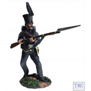 B36166 W.Britain Brunswick Leib Battalion NCO Defending - Napoleonic Collection