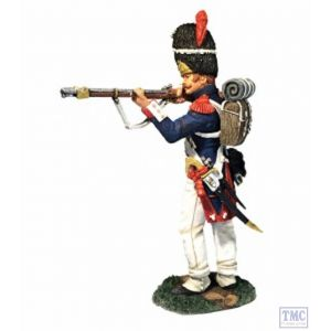 B36175 W.Britain French Old Guard 2nd Rank Standing Firing Napoleonic
