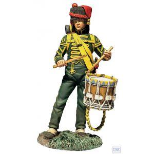 B36181 W.Britain Nassau Grenadier Drummer Napoleonic