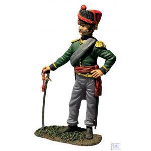 B36183 W.Britain Nassau Grenadier Officer No. 1 1815 Napoleonic