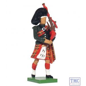 B41070 W.Britain Blackwatch Piper Ceremonial Collection